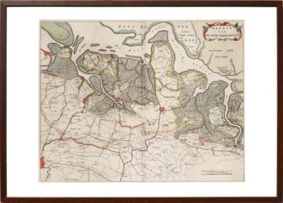 Zeeland - Kaart van de vier ambachten